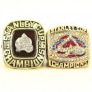 1996 2001 Colorado Avalanche Stanley Cup Championship Ring Set Of 2-Size 11-No Box