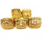 5 PCS 1981/1994/1988/1989/1984 San Francisco 49ers Championship Rings-Size 11-No Box