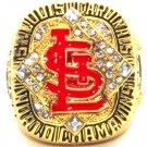 2006 St Louis Cardinals Gold Championship Ring-Gibson, Molina or Pujols-Size 8-13-No Box