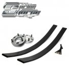 """2004-2008 Ford F150 3"""" Front + 2"""" Rear Lift Leveling Add-A-Leaf Kit 2WD 4WD"""