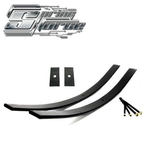 "2"" Lift Long helper springs Add-a-Leaf Kit for 98-09 Nissan Frontier Shims"