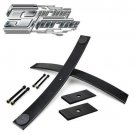 """2"""" Short helper springs Add-a-Leaf Kit for 05-19 Nissan Frontier 2WD 4WD Shims"""