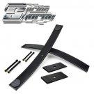 """95-99 GMC Yukon 1500 4X4 Steel 2"""" Rear Add-a-Leaf Lift Kit with Shims"""