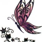 Glitter Sparkle Butterfly Temporary Tattoo