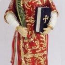 """Statue Saint Vincent Figurine St Vincent Religious Figure - 8.3"""" - 21cm - FREE SHIPPING"""