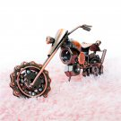 SM M5B Creative Home Decoration Iron Model Knick-knacks Long Chain Motorcycle Model Bronze
