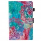 Protective Cover Case for Amazon Kindle Fire HD8  Pattern Color Flowers
