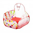 Polka Dot Pattern Foldable Kids Play House Tent Outdoor&Indoor Basketball Tent