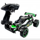 Remote Control Toy Car Cross Country Vehicle 2.4Ghz 1:20 Body Off Road Vehicle Rechargeable Green Gr
