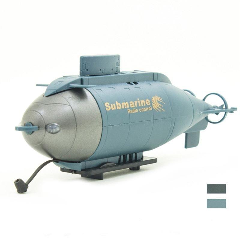 Jin Guang 777-216 Mini 6-Channel Remote  Control Submarine Blue