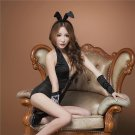 Costume Cosplay Party Sexy Lovely Bunny Rabbit Lingerie Full Set Dress Uniform