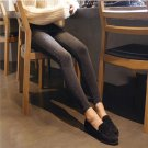 High-waisted Skinny Ankle Length Pencil Pants All-match Jeans With Zipper Fly