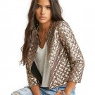 Product Name:  American Fashion Autumn Women Slim Coat Casual Long Sleeve Sequined Jacket