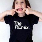 Kids Unisex Summer Casual Cotton Letter Pattern Short Sleeves O-Neck T-Shirt
