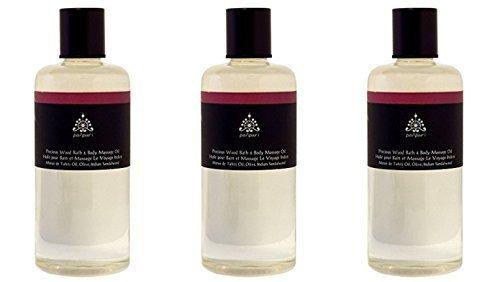 Parnpuri Inner Peace Honey Milk Bath & Body Massage Oil 300 ml.
