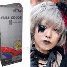 Premium Permanent Hair Colour Cream Dye Punk Goth 0/11 Silver Ash