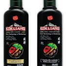 New Kokliang Hair Herbal Black Natural Darkening Thickening Shampoo 200