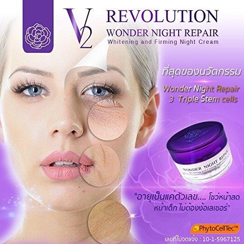 30 ml V2 Revolution Wonder Night Repair Triple Stem Cell Night Cre