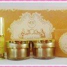 Freshy Face Gold Set (5 Pcs) Acne Blemish Treatment Whitening Aura