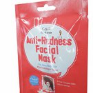 3 Mask Sheets of Cettua Clean & Simple Anti-Redness Facial Mask.