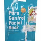 5 Mask Sheets of Cettua Clean & Simple Pore Control Facial Mask.