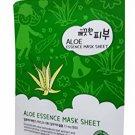 2 Mask Sheets of Esfolio Pure Skin Aloe Essence Mask Sheet. Enrich