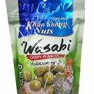 2 packs of Khao Shong Nuts Wasabi Crispy Peanuts. Healthy and Deli