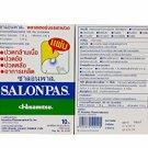 6 Packs of Salonpas (65 Mm X 42 Mm) (10 Patches/pack)