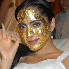100 Pieces of Gold Leaf for Spa(3 Cm X 3 Cm) - 100 Real G