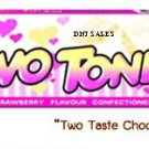 Two Tone Strawberry and Milk Cream Candy Cheap Price From Thailand