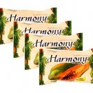(4-pack) Harmony Extra Moisturizer Fruity Soap Bar Fruitapone Plus Enric