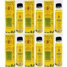 6 X Pcs.of Thai Herbal Gold Cross Yellow Oil 24 Ml