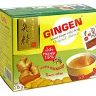 Instant Ginger with Honey Thai Herbal Drink 1 Box 12 Sachets