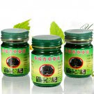 3x50g PHOYOK Thai Green Herbal Balm Ointment Massage Muscle Joints Sp