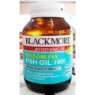 New Blackmores Odourless Fish Oil 1000 mg.
