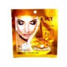 4 Packs New Facy 4 Elements Gold Pearl Silk Collagen White Bright