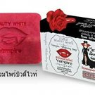 Beauty White Vampire Whitening Soap for Face and Body Natural Rose