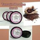 Saibua Natural Thai Herb Tamarind Coffee Facial White Mask Scrub 50