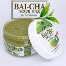Bai-cha Scrub Milk by Dudeezone Whitening Skin Dark Spots with Gentle