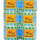 6 packs of White Tiger Balm Herbal Ointment 19.4 G. Free Relief