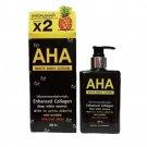 AHA Whitening Body Lotion Enhanced Collagen deep white essence WITE 3