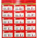 18 Packs Siang Pure Herbal Menthol Salt Nasal aromatherapy Inhaler/inhal