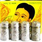 4 Piece Jarungjit Ancient Nasal Inhaler Herbal Relief Dizziness Faint