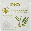 Acne Free Collagen Facial Mask Antibacterial Pimples & Rashes with Te