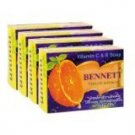 4-pack of New Bennett: Vitamin C&E Soap Natural Extracts (130g.) Thai