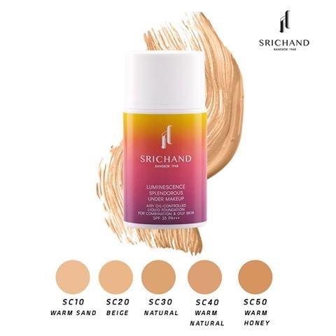 Srichand Luminescence Splendorous Under Makeup SC50 Warm Honey