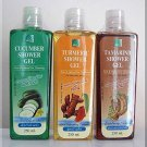 Thanyaporn Set of Shower Gel Herbal liquid Soap  Turmeric , Tamari