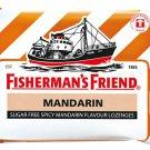 Fishermans Friend Sugar Free Refreshing Spicy Mandarin Flavor Cough Loze