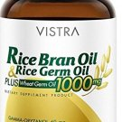Vistra Rice Bran Oil & Rice Germ Oil Plus Wheat Germ Oil 40