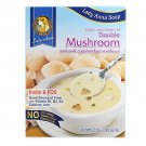 Lady Anna Instant Soup, Cream of Double Mushroom, net weight 66 g